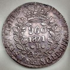 BRASIL 1821B. V.2B. 960 RÉIS MOEDA DE PRATA. MBC