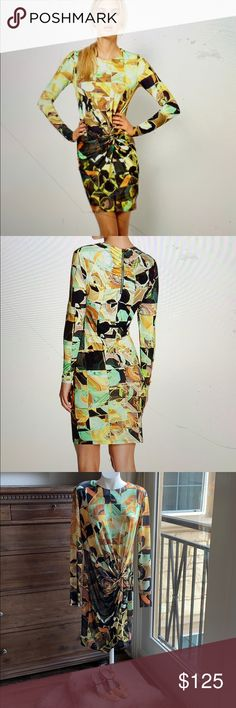 NWT TED BAKER LONDON Dollila Pirouette Body-Con Midi Dress SIZE TED/'S 0