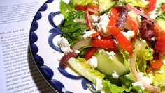 Greek Salad - a version of Cook's Illustrated recipe