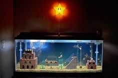 Watch A Super Mario Bros. Aquarium Get Built From Scratch
