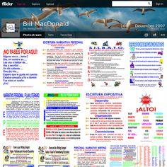 Website 'http://www.flickr.com/photos/writingdoctor/' snapped on Snapito! Algunos tableros son en español y muy útiles