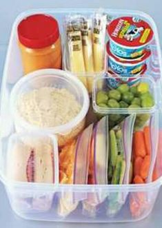 How to Cut Your Summer Meal Prep Time in Half -- Lots of great short-cuts and ideas for cutting your summer meal prep in half, including creating a snack bin to make snacktime simple!