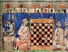 """Eraclito chiamava pesseuon il tavoliere a scacchi. E pesseuoterion (pesseuterio) era chiamata la tavola astronomica dove era rappresentato il cielo. Una complessa simbologia di tipo spazio-temporale e cosmica è presente infatti nel gioco degli scacchi e ne giustifica probabilmente lo sviluppo parallelo e autonomo tra quei popoli maggiormente interessati alle """"cose del cielo""""."""