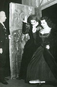Maria Callas e Giulietta Simionato