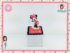 Caixinha acrílica - Minnie