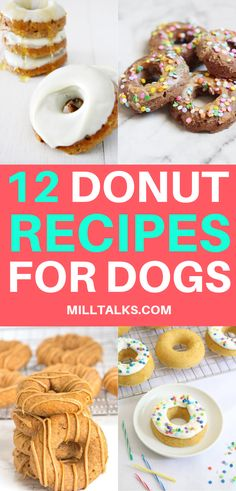 12 Amazing Donuts for Dogs is part of Dog recipes - 12 Dunkin Worthy Doggie Donuts Hey guys! What's up I'm just over here craving some Krispy Kreme or Dunkin Donuts… Dog Cake Recipes, Easy Dog Treat Recipes, Dog Biscuit Recipes, Dog Food Recipes, Easy Dog Cake Recipe, Kitchen Recipes, Food Tips, Homemade Dog Cookies, Homemade Dog Food