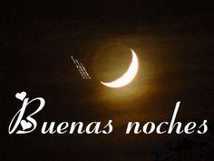 Imagen de la luna con una estrella animada para dar las Buenas noches