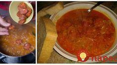 Najlepší recept na sviatočnú kapustnicu. Detox Soup, Xmas Food, Sandwich Recipes, Chana Masala, Salsa, Sandwiches, Good Food, Mexican, Menu
