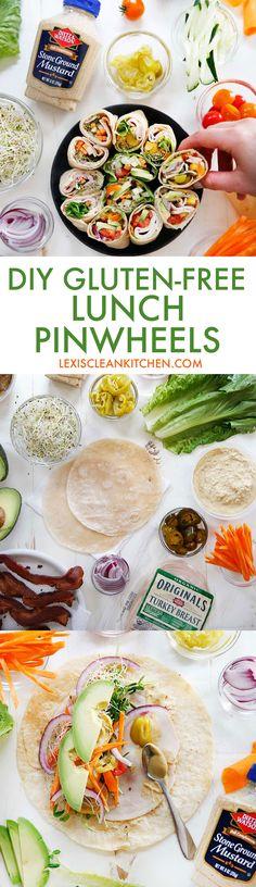 DIY Gluten Free Lunch Pinwheels | Lexi's Clean Kitchen
