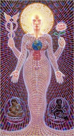 Sacred Sophia by Alex Grey