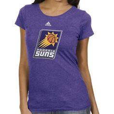 adidas Phoenix Suns Ladies Better Blank Primary Logo T-Shirt - Purple. Nba  StorePhoenix ... f561d1f5d9