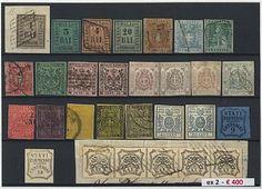 Antichi Stati - 113 francobolli nuovi ed usati di I e II scelta tra cui Modena, Parma, Romagne e Toscana. Vari firmati da periti e sei certificati. Alto valore di…