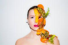 Fashion Monster shoot. By Maartje van Hooij Model Galina.