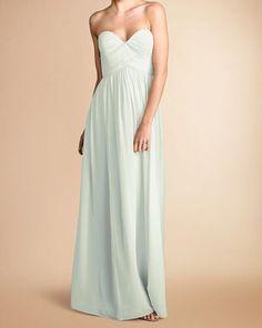 Custom Sweetheart Empire Prom Dress Full Length Chiffon Bridesmaid Dress,xb27