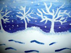 Téma: Zimní krajina