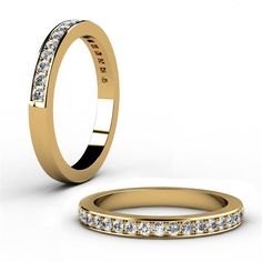 Gold with diamond detail - Waldermar Jewellers