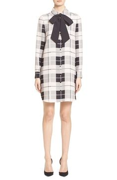 kate spade new york 'griffin' plaid dress available at #Nordstrom