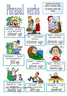 phrasal verbs pictures - Buscar con Google