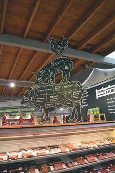 Landmarkt | Amsterdam | Super/versmarkt | 2012 | Trends: Healthy, Fast & Slow, Urban another informative display
