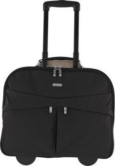Baggallini Skyline Rolling Briefcase Black Sand Via Ebags Lawyer Briefcasebriefcase Womenlaptop Briefcaselaptop Bagsbest