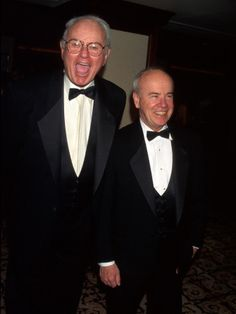 Actors/Comedians Harvey Korman and Tim Conway at DGA Awards.
