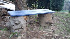 DIY Bench Gartenbank