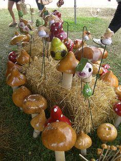 Mushroom Gourd Art by justgrimes, via Flickr