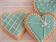 Oatmeal and date cookies - HQ Recipes Elegant Cookies, Fancy Cookies, Heart Cookies, Iced Cookies, Cute Cookies, Easter Cookies, Cookies Et Biscuits, Cupcake Cookies, Sugar Cookies