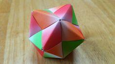 折り紙(おりがみ)・園部式ユニット12枚組(3色×4枚)
