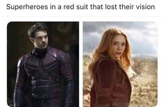 Marvel meme, scarlet witch, daredevil