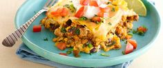 Treat your family to this Healthified version of cheesy beef enchiladas made in the slow cooker.
