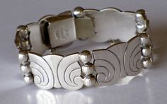 TAXCO MEXICAN STERLING Silver Bracelet by TheButterflyBoxdeitz, $215.00