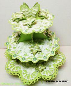 KREATIV SCRAPPING BLOGG: Hjemmelagde blomster, GDT Rita Andersen