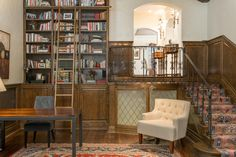 Cute library nook in an extraordinary Country Club Listing. 401 Race St, Denver CO 80206