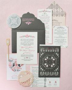 Convites de casamento | Siga estas 10 dicas para uma escolha de convites de casamento perfeitos! | Wedding invitations