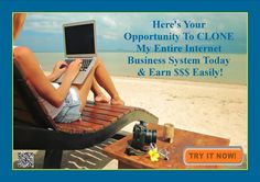"""Here's Your Opportunity To CLONE My Entire Internet Business System Today!"""" http://b4c2002gqn527qc3qhif0e2z7r.hop.clickbank.net/?tid=ATKNP1023"""