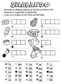 ATIVIDADES VARIADAS DE ALFABETIZAÇÃO | Pedagogia ao Pé da Letra