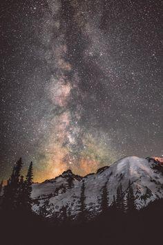 bright-glowing-embers:  banshy:  Mt. Rainier National Park //...