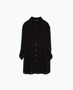 ZARA - WOMAN - SHIRT WITH POCKETS