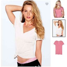Brand New VS LOVE PINK T Shirt Size Small Brand New LOVE PINK T Shirt • White • V neck • Size Small • Dog Logo on Left Bottom FREE SHIPPING on orders of $50 or more including bundles ..be sure to comment so I can set up a separate listing just for you to reflect shipping discount PINK Victoria's Secret Tops Tees - Short Sleeve