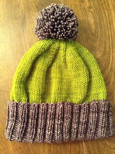 I hope you enjoy knitting POP! It's an easy, quick, and fun hat. The brim is knit extra long so it can be folded up for extra warmth. I just have a few comments on the pattern…