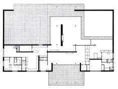 Mies van der Rohe; project for the Margarete Hubbe House, Magdeburg, 1935