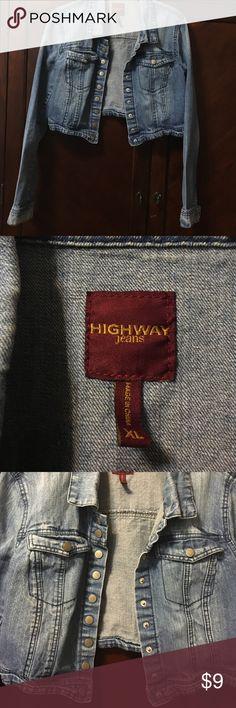 💙Women's extra-large Jean jacket 💙 women's extra-large cropped Jean jacket Jackets & Coats Jean Jackets