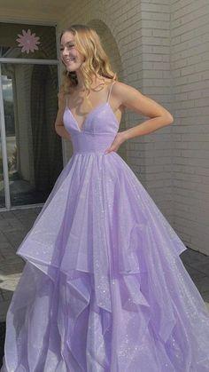 Stunning Prom Dresses, Pretty Prom Dresses, A Line Prom Dresses, Formal Evening Dresses, Dance Dresses, Ball Dresses, Elegant Dresses, Beautiful Dresses, Purple Prom Dresses
