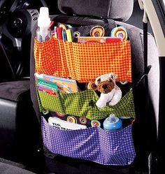diy car organizer | car organizer pattern yup, we need this in at least my car ... | DIY!