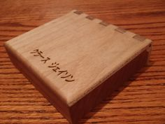 Wooden Tenkara Fly Box
