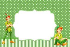 Peter Pan - Kit Completo com molduras para convites, rótulos para guloseimas, lembrancinhas e imagens!