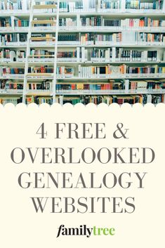 Dig deeper in your research to find hidden gems at these four free and underused genealogy websites. Dig deeper in your research to find hidden gems at these four free and underused genealogy websites. Free Genealogy Records, Free Genealogy Sites, Genealogy Search, Dna Genealogy, Family Genealogy, Ancestry Free, Genealogy Chart, Family Tree Research, Family Tree Chart