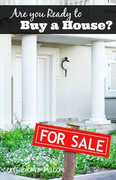 Are You Ready to Buy a House? Check out these tips to see if now's the time to buy. Becoming A Realtor, First Time For Everything, Home Buying Process, Real Estate Business, New Career, Always Learning, Budgeting Finances, Rental Property, Financial Planning