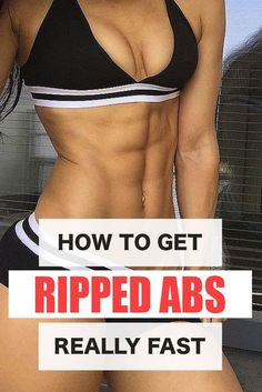 How to get RIPPED ABS fast. My diet tips and favorite exercises! Ripped Workout, 6 Pack Abs Workout, Ab Workout At Home, At Home Workouts, Ab Workouts, Workout Routines, Workout Men, Workouts To Get Ripped, Lean Body Workouts